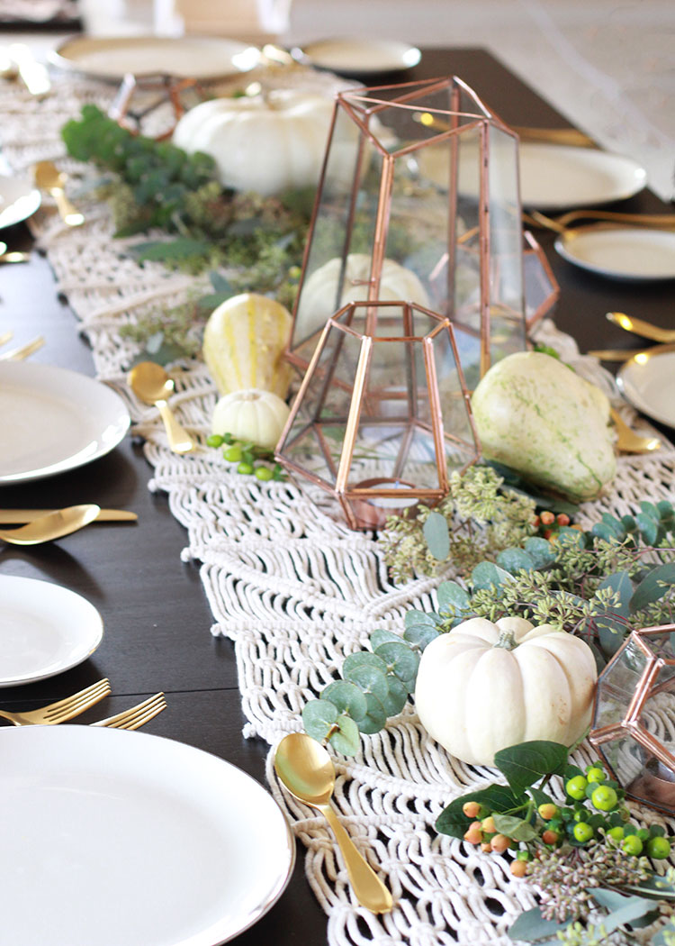 pretty thanksgiving details and ideas for invites to your own party   thelovedesignedlife.com