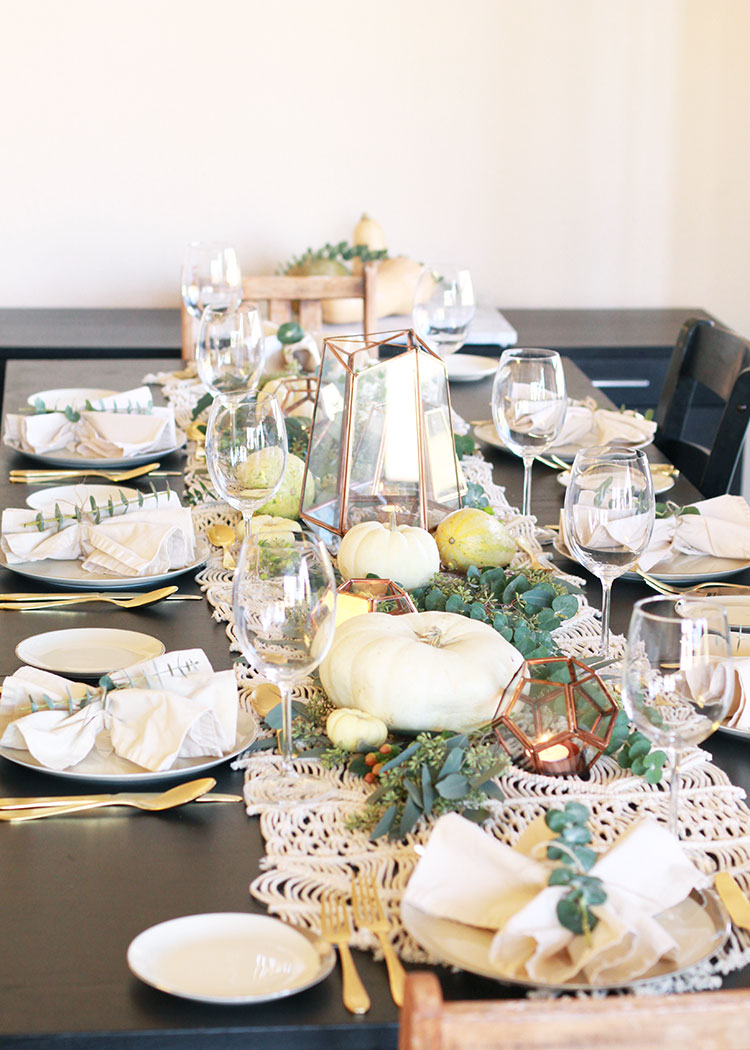 how to create a festive tablescape, when to use invitations and more!   thelovedesignedlife.com
