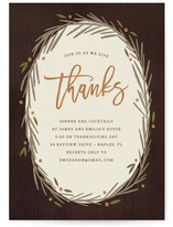 favorite paper + FREE digital thanksgiving invitations from minted   thelovedesignedlife.com