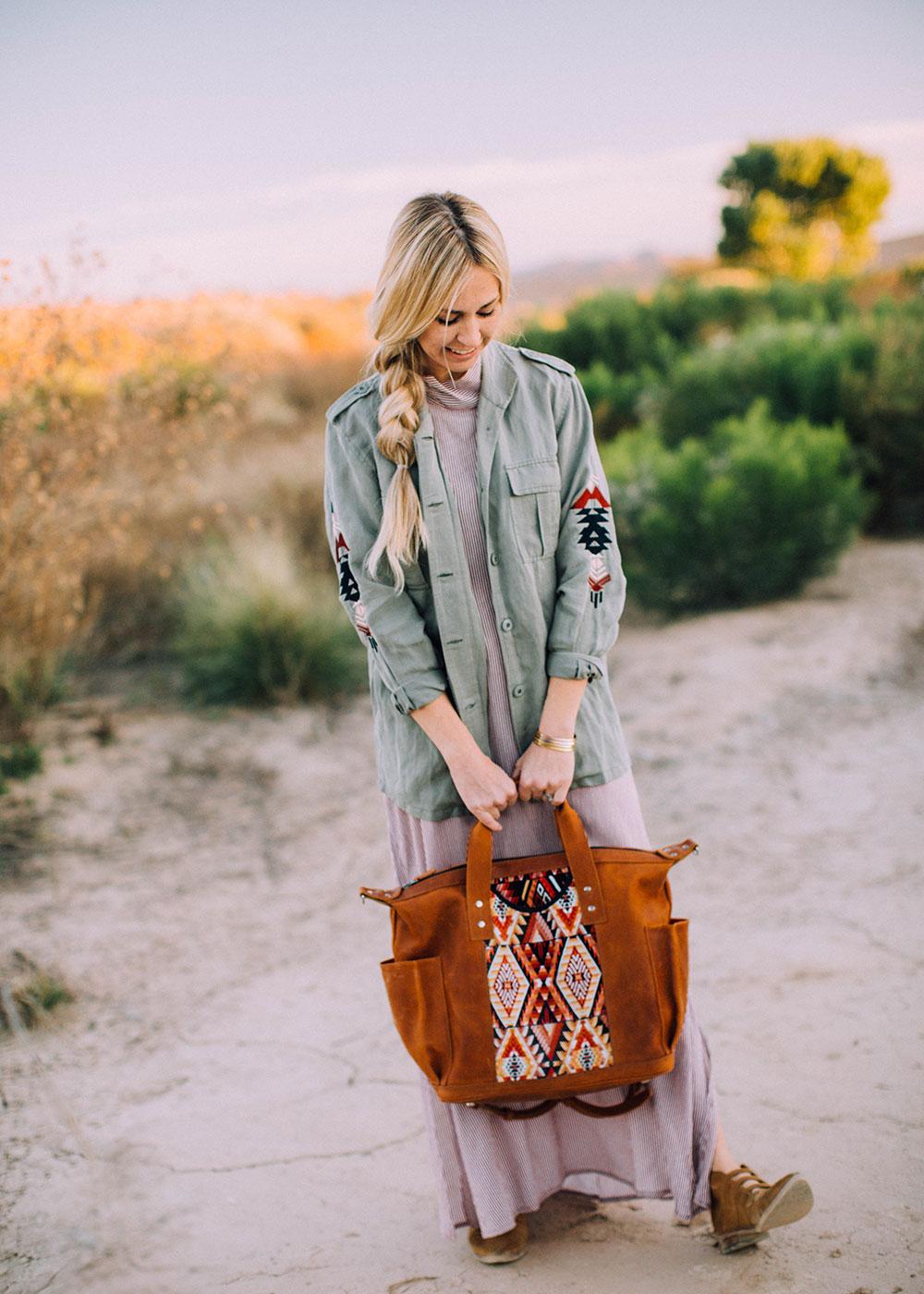 modern motherhood, desert style   thelovedesignedlife.com