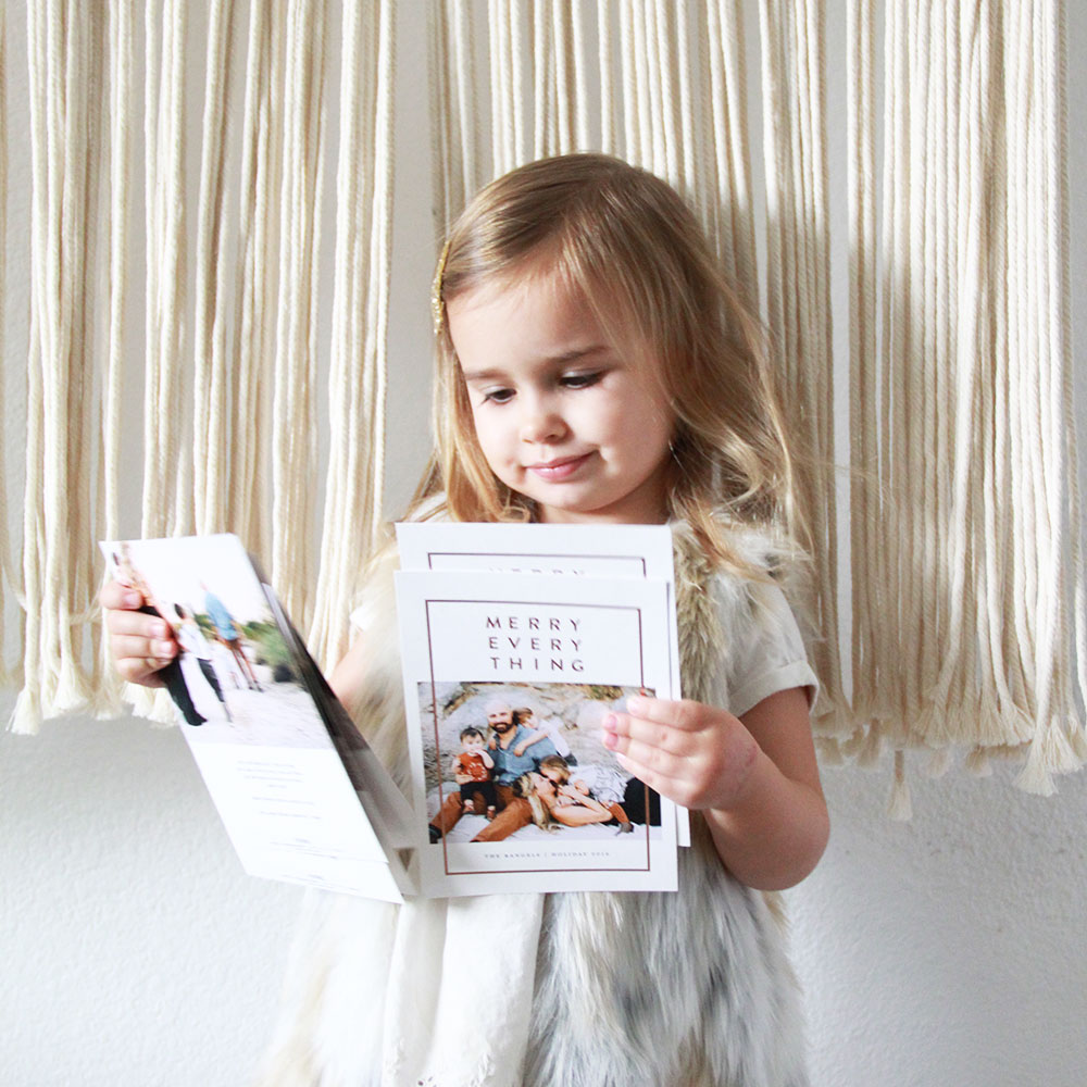 there's still time to get FREE rush shipping on your minted holiday cards!   thelovedesignedlife.com