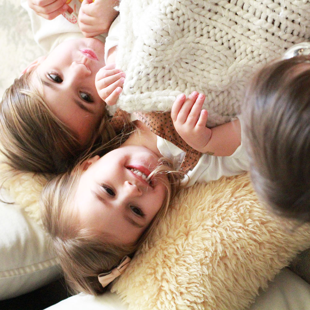 my three little cuddle bugs | thelovedesignedlife.com