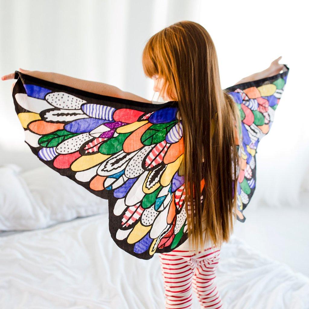 seedling dyi bird wings | thelovedesignedlife.com