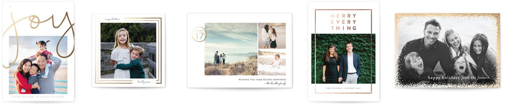 minted holliday card top favorites. | thelovedesignedlife.com