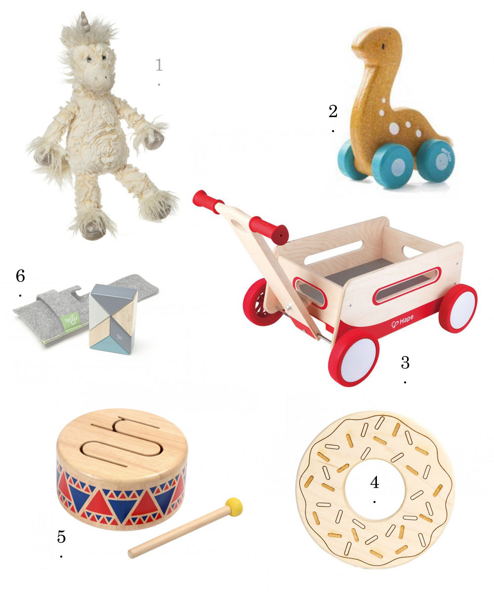 simple, lovely gifts for baby + kids going under our tree this year | thelovedesignedlife.com