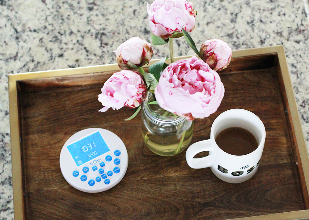 setting my bObi to sweep the floors while I drink my coffee is where it's at.   thelovedesignedlife.com