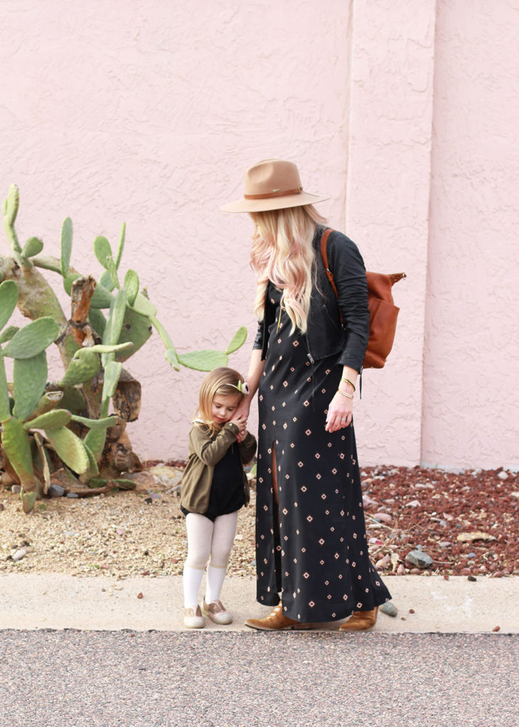 love styled: a mama + mini look from our closet | thelovedesignedlife.com
