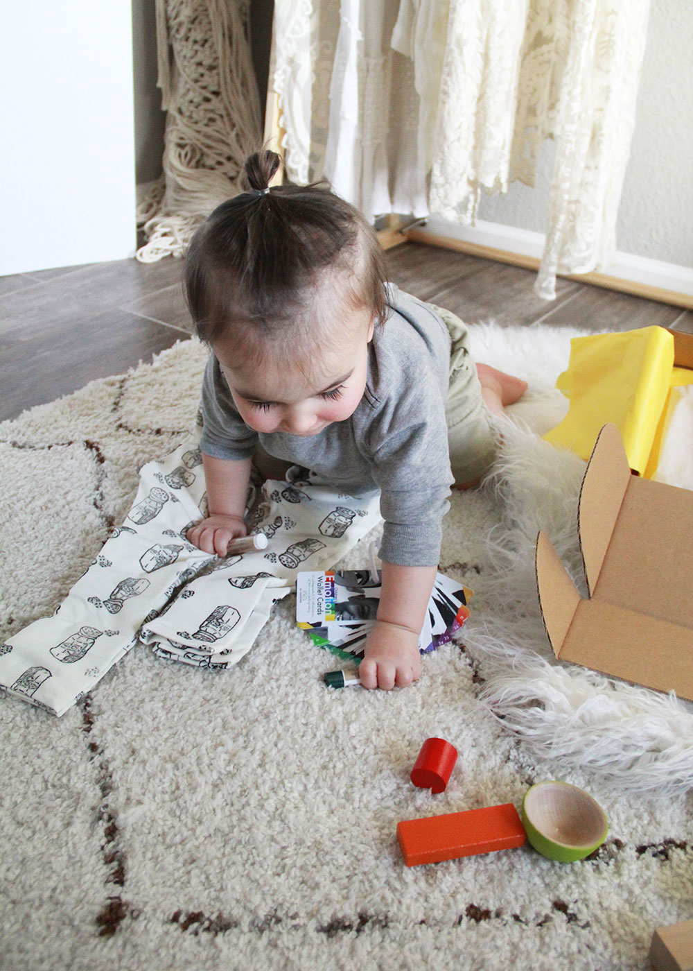 diego loved pretty much eerything in this month's mom 'n tot box | thelovedesignedlife.com
