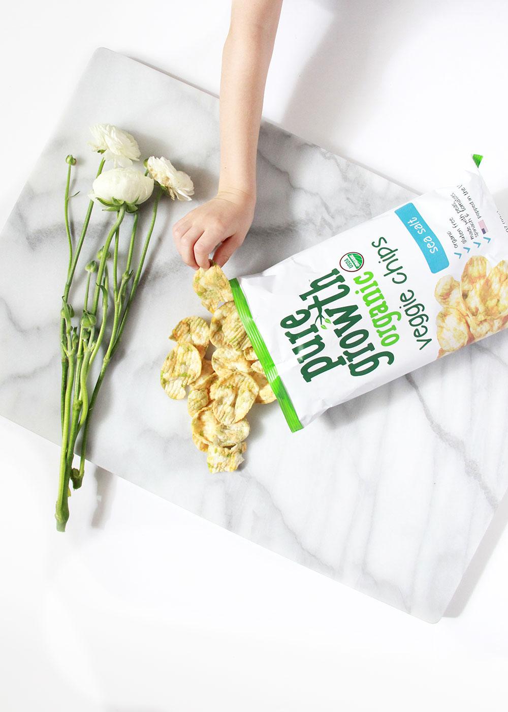 pure growth organic snack attack | thelovedesignedlife.com