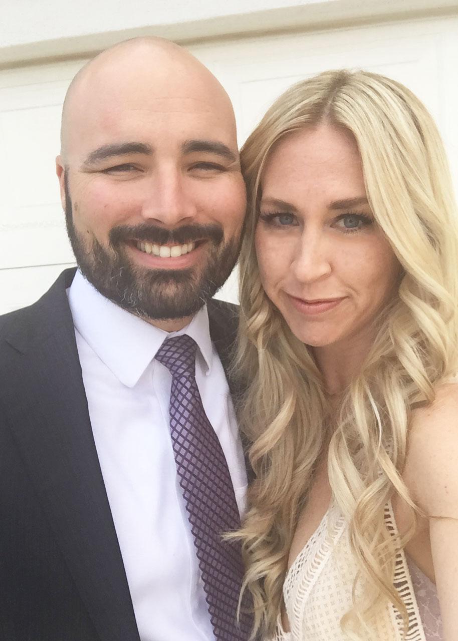pre-wedding selfie | thelovedesignedlife.com