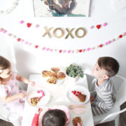 valentine's day breakfast for the kids! love this cactus fine art print from minted. | thelovedesignedlife.com