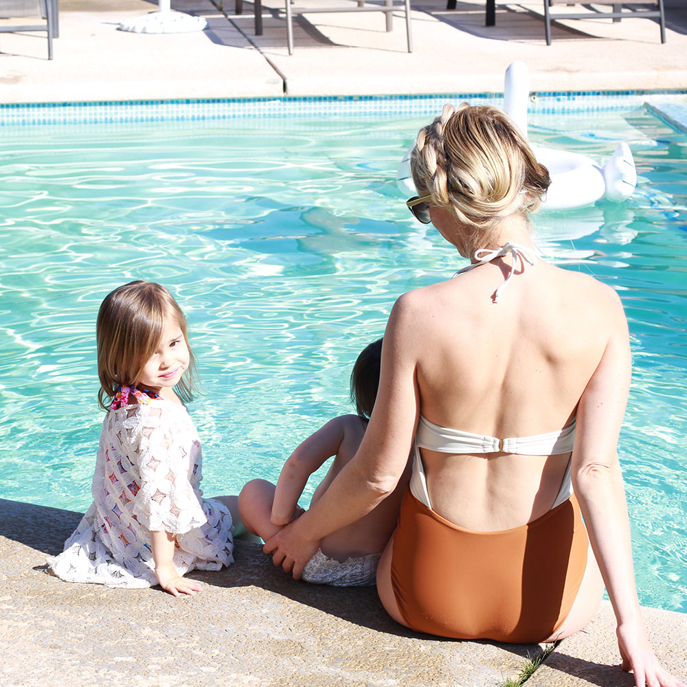 when in palm springs, pool time is a must!   thelovedesignedlife.com
