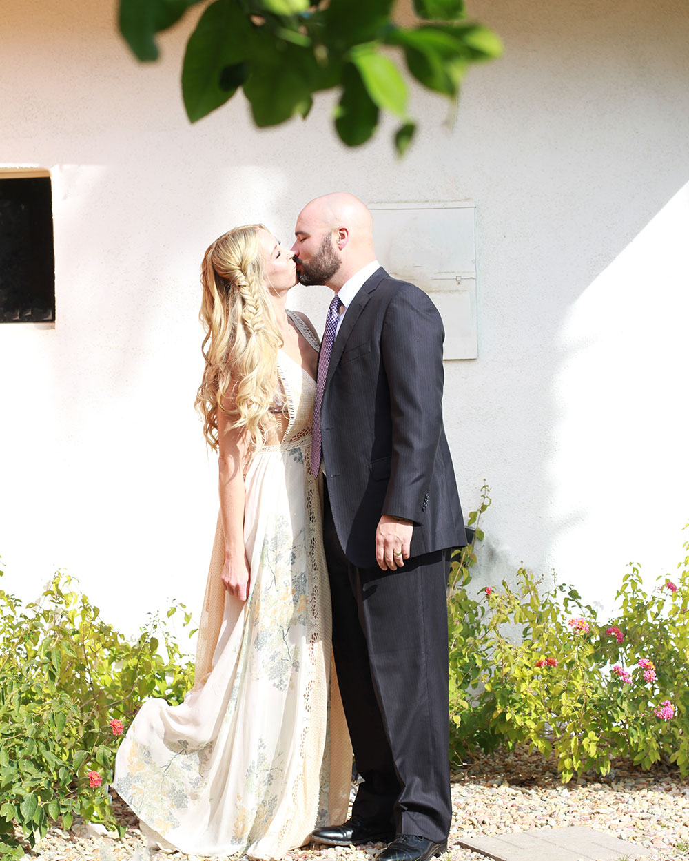 my love and I, ready for our friends' wedding in palm springs | thelovedesignedlife.com