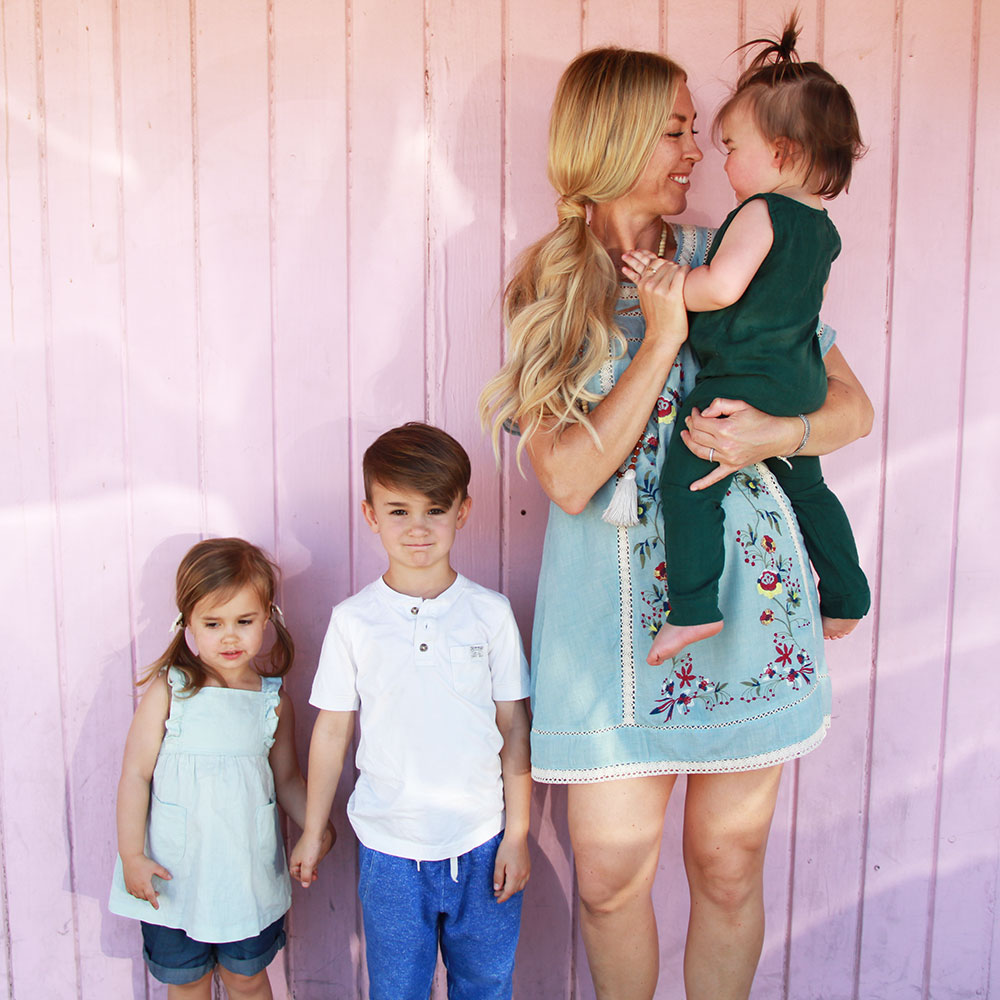 spring break with three kids mean lots of imperfect pictures | thelovedesignedlife.com