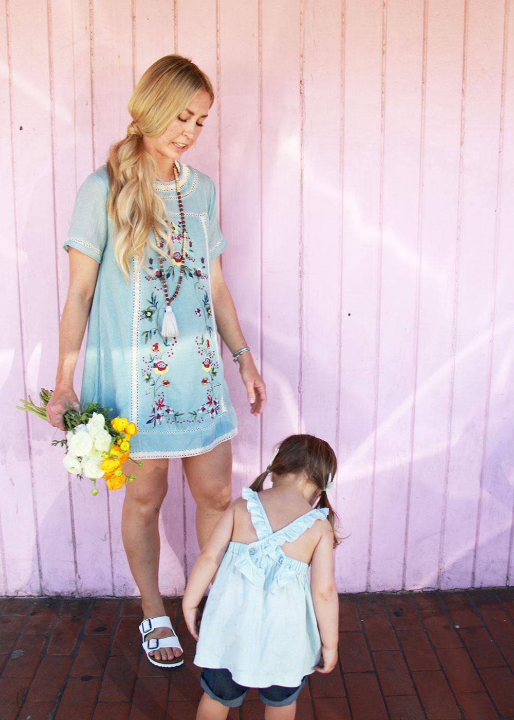 sweetest mama/daughter duo | thelovedesignedlife.com
