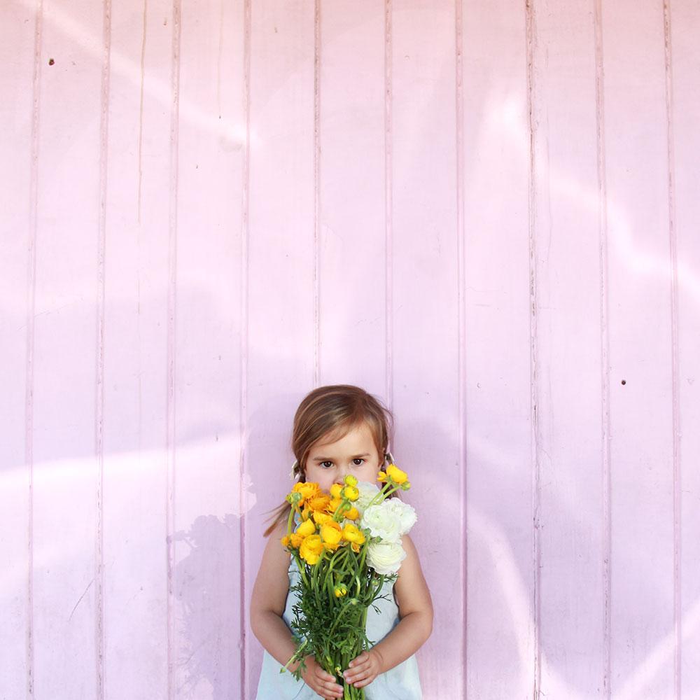 oh sweet springtime baby girl! | thelovedesignedlife.com