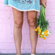 hooray for shorter hemlines, sandals, flowers, and spring break! | thelovedesignedlife.com
