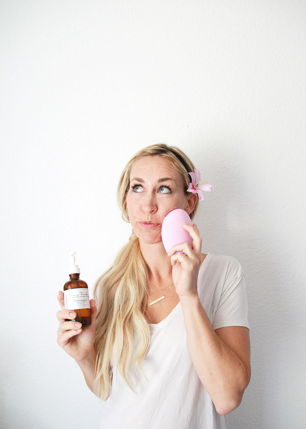 trying to be better about having a regular skincare routine | thelovedesignedlife.com