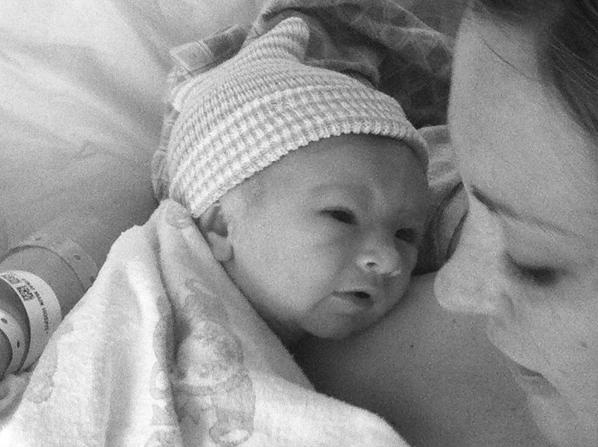 my brand new baby boy 5.2.11   thelovedesignedlife.com