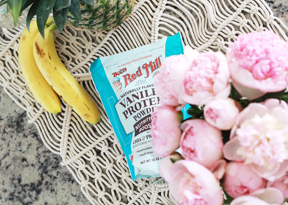 love this vegan vanilla protein supplement from bob's red mill | thelovedesignedlife.com