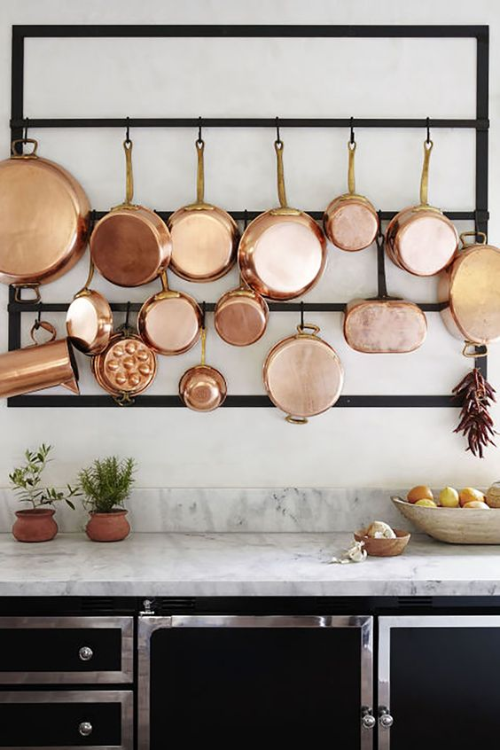 my dream kitchen inspo via pinterest - copper | thelovedesignedlife.com