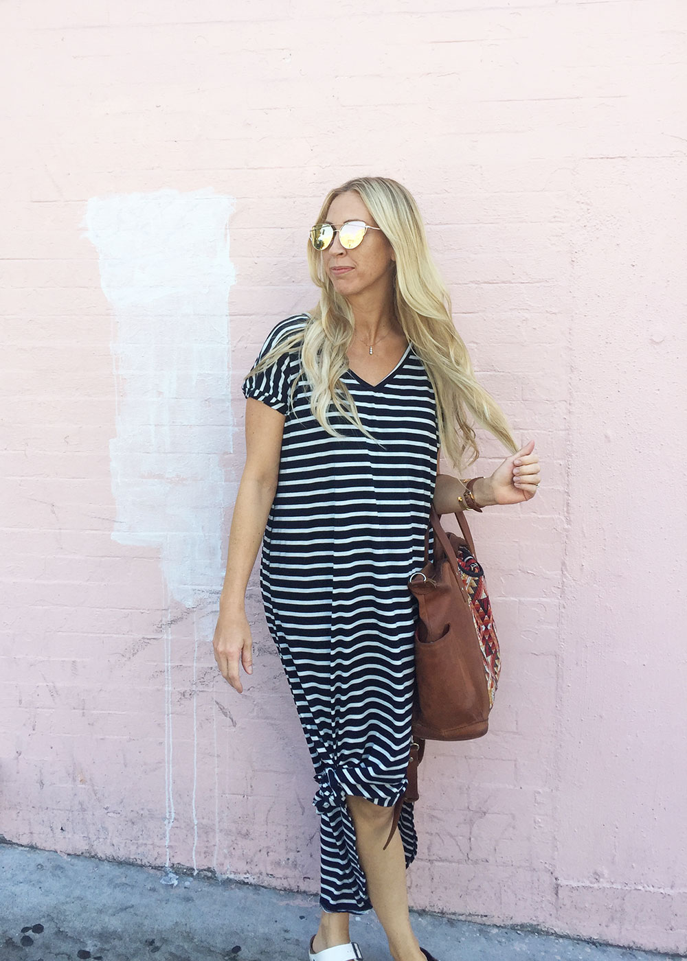 my new favorite travel dress by pink blush! | thelovedesignedlife.com
