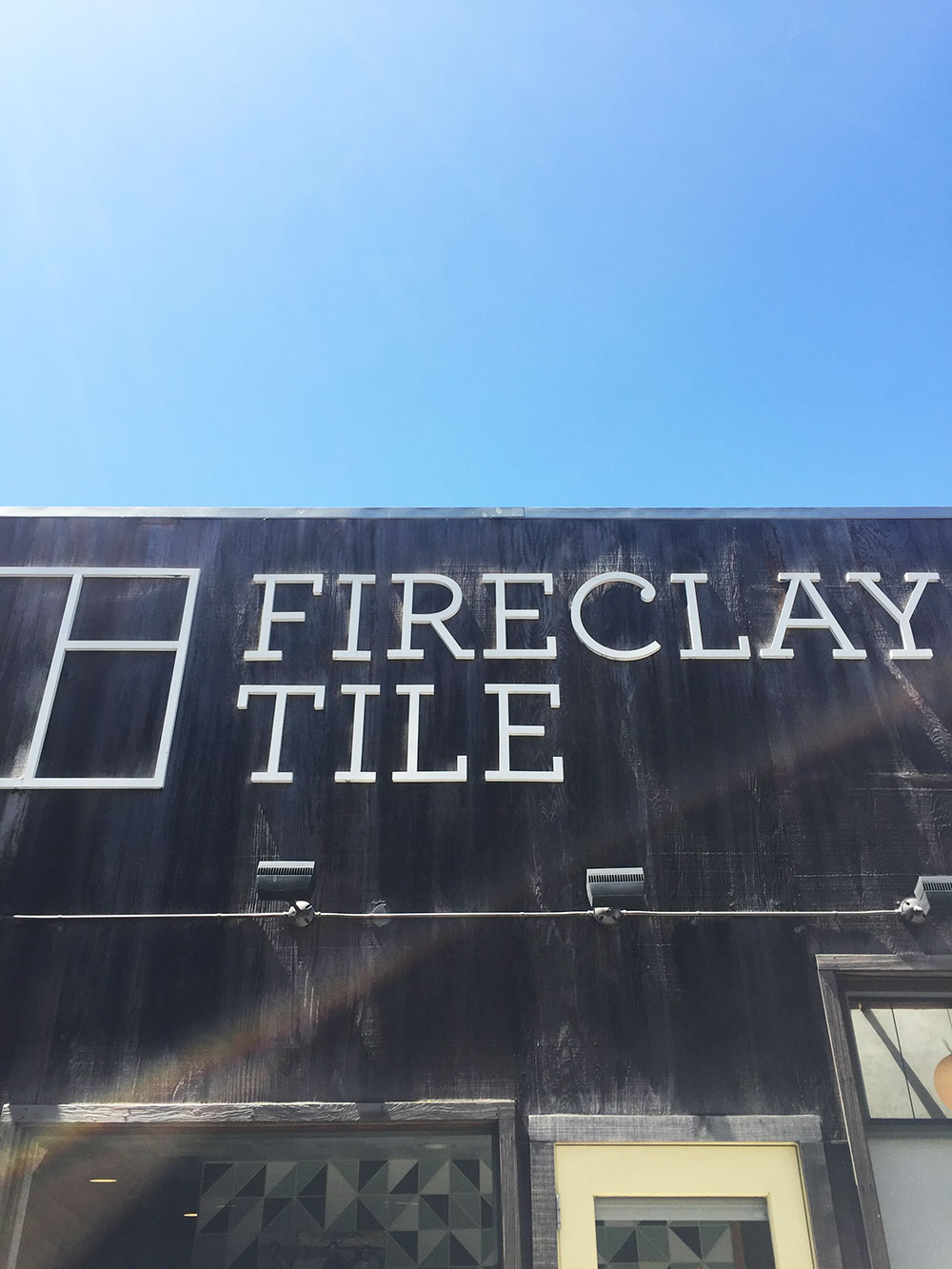 the fireclay tile showroom in san francisco, california | thelovedesignedlife.com