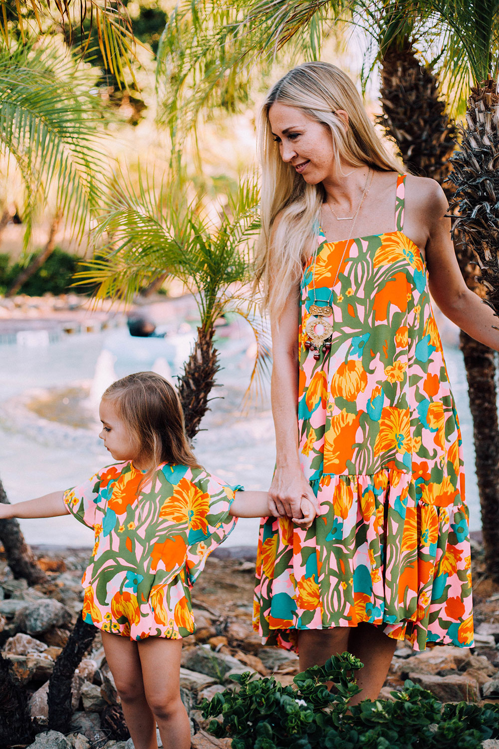 sweetest mommy and me matching outfits by crew and lu | thelovedesignedlife.com