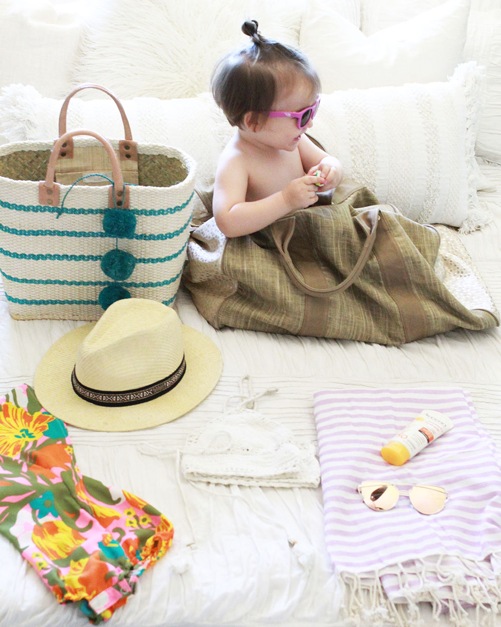 packing for staycation with my babe | thelovedesignedlife.com