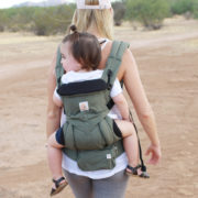 a review of the new ergobaby 360 omni carrier | thelovedesignedlife.com