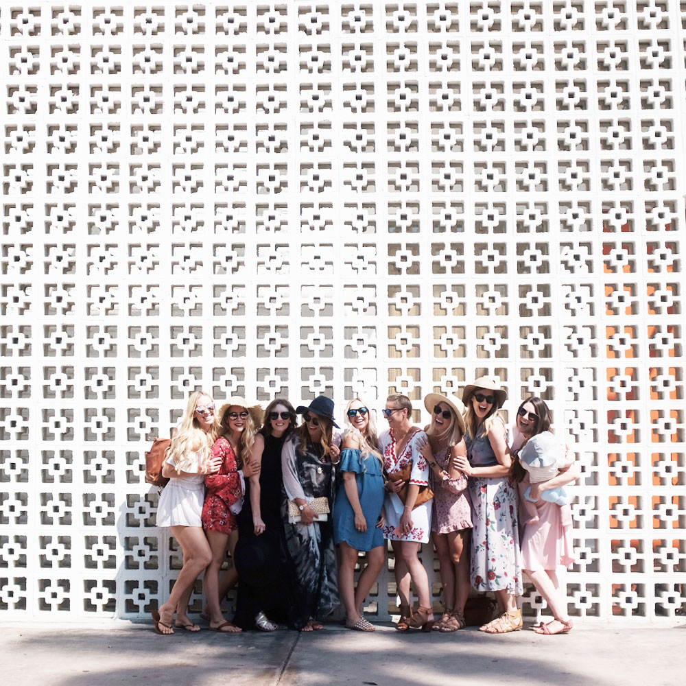 brunch with the girls at the parker palm springs | thelovedesignedlife.com