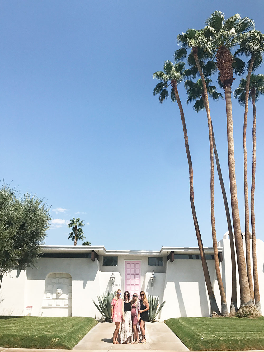 #thatpinkdoor is a must see in palm springs! | thelovedesignedlife.com
