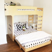 a bunk bed for my boys! | thelovedesignedlife.com