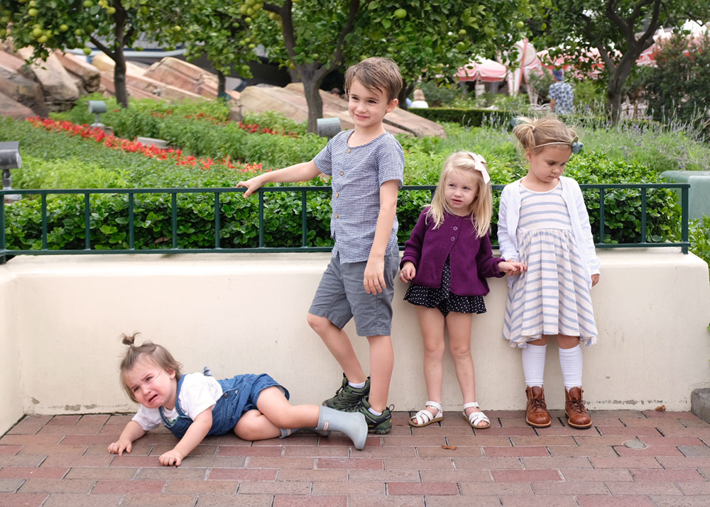 what's a trip to disneyland without at least one meltdown, right? | thelovedesignedlife.com