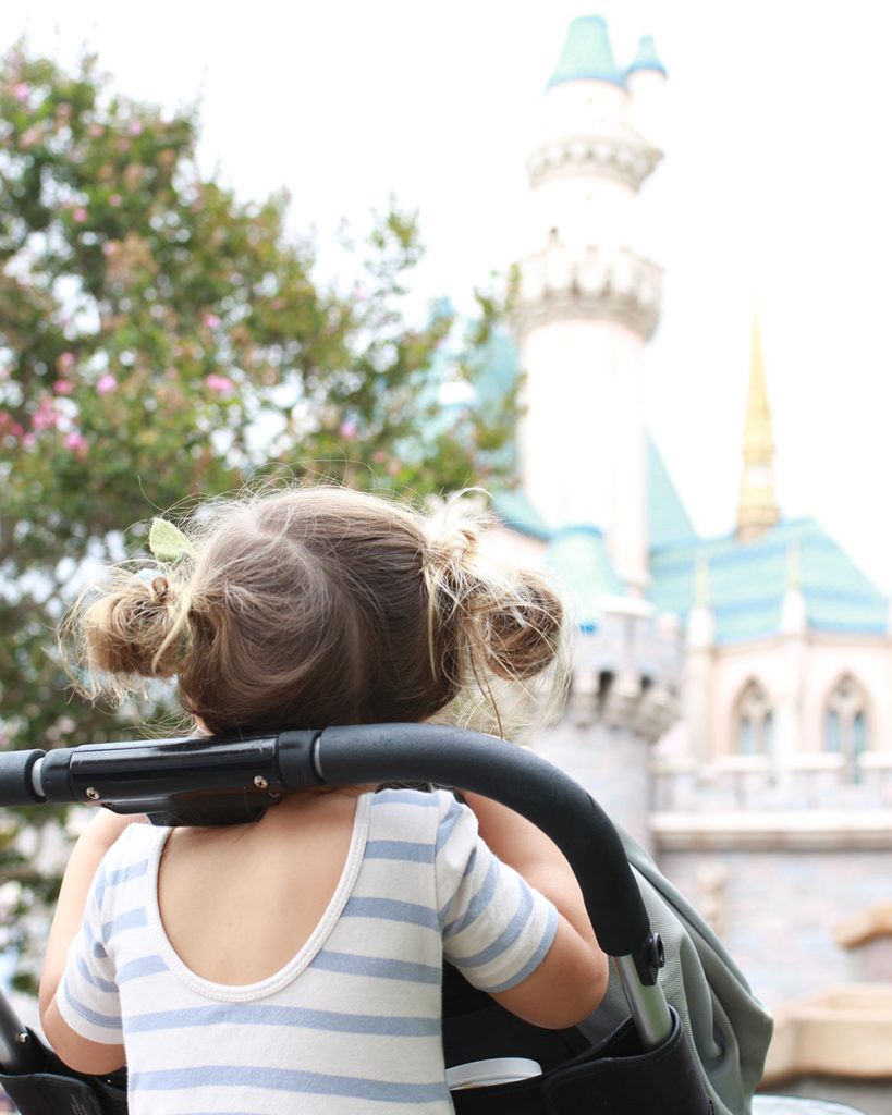 exploring disneyland with 3 kids ages 6 + under | thelovedesignedlife.com