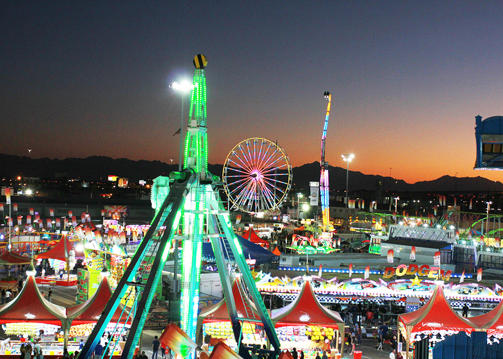 a super fun date night with my man at the arizona state fair | thelovedesignedlife.com