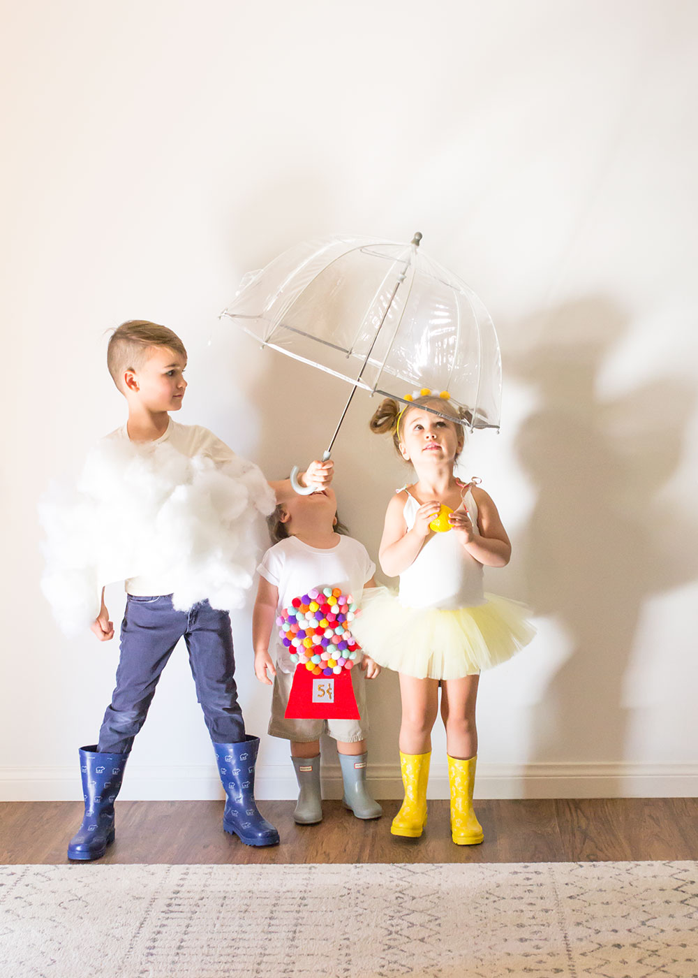 fun and easy diy halloween costume ideas. if all of the raindrops were lemon drops  sc 1 st  The Love Designed Life & halloween diy: raindrops lemondrops + gumdrops | the love designed ...
