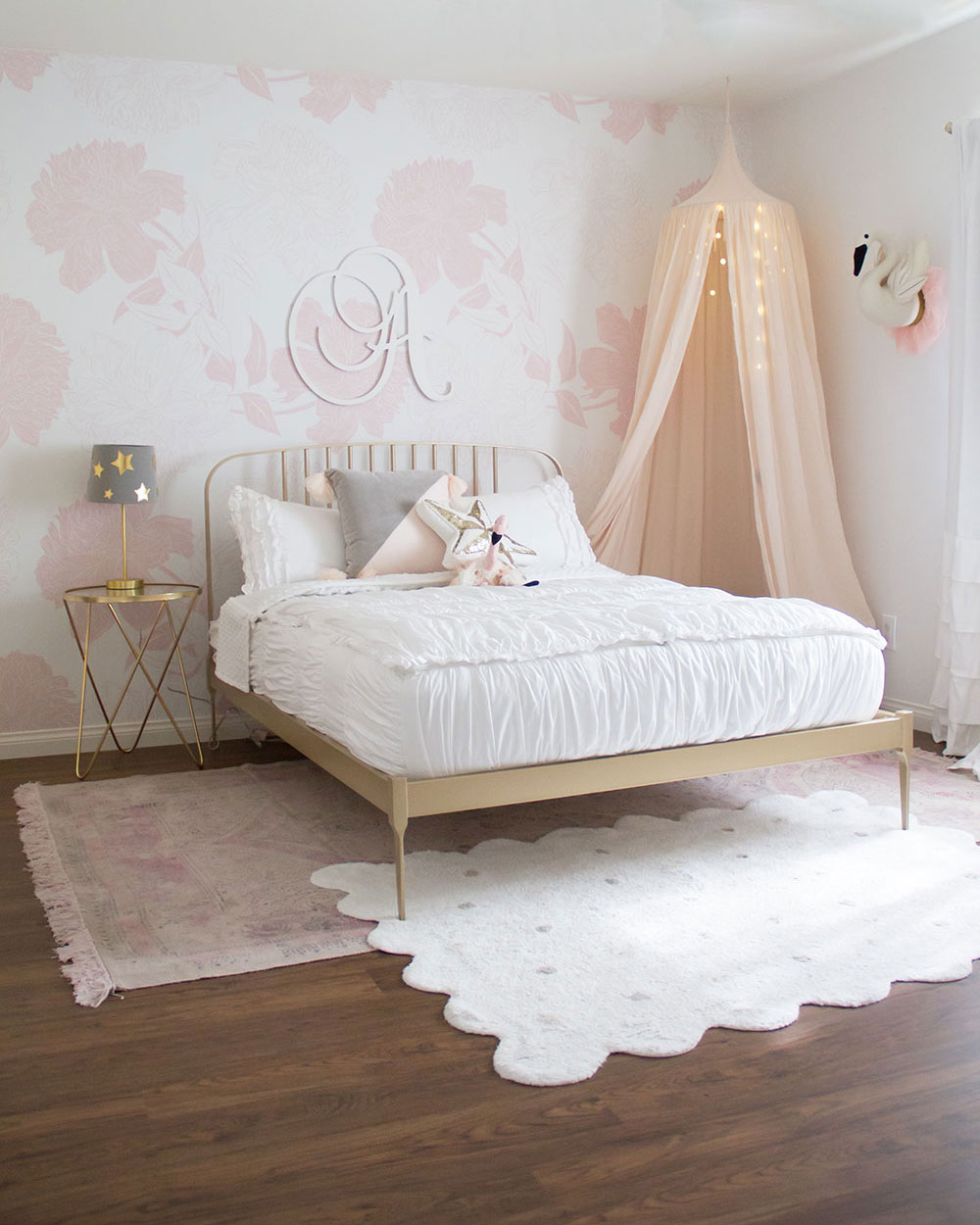 our big girl\'s room reveal | the love designed life