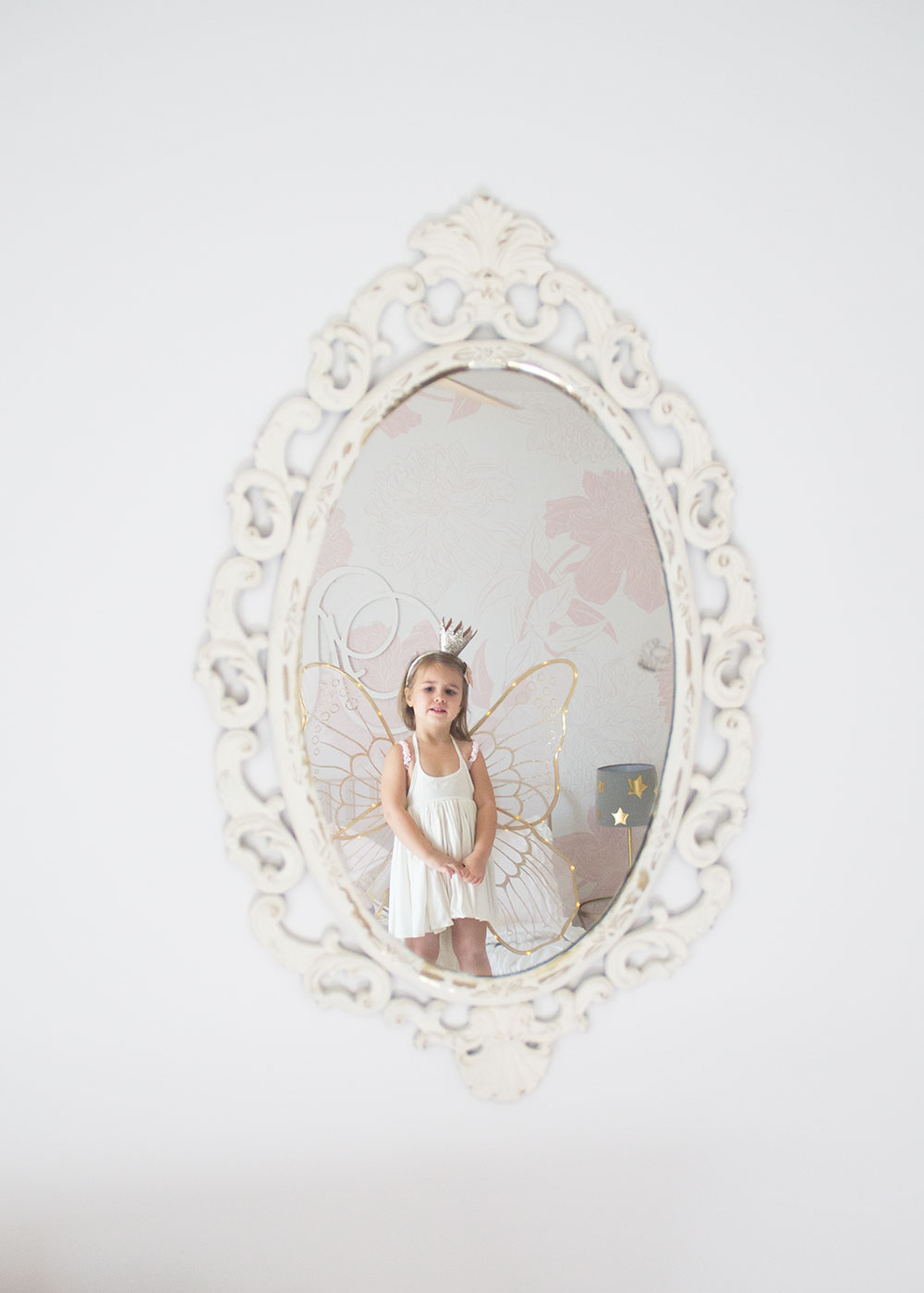 a pretty in pink big girl's room reveal on the blog today | thelovedesignedlife.com