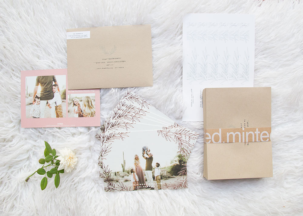 all the details from minted holiday christmas cards | thelovedesignedilfe.com #holiday #christmascards