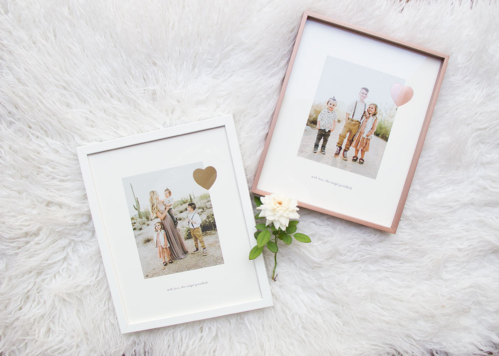 minted makes the most beautiful framed and mounted holiday gifts! | thelovedesignedlife.com #christmas #giftideas