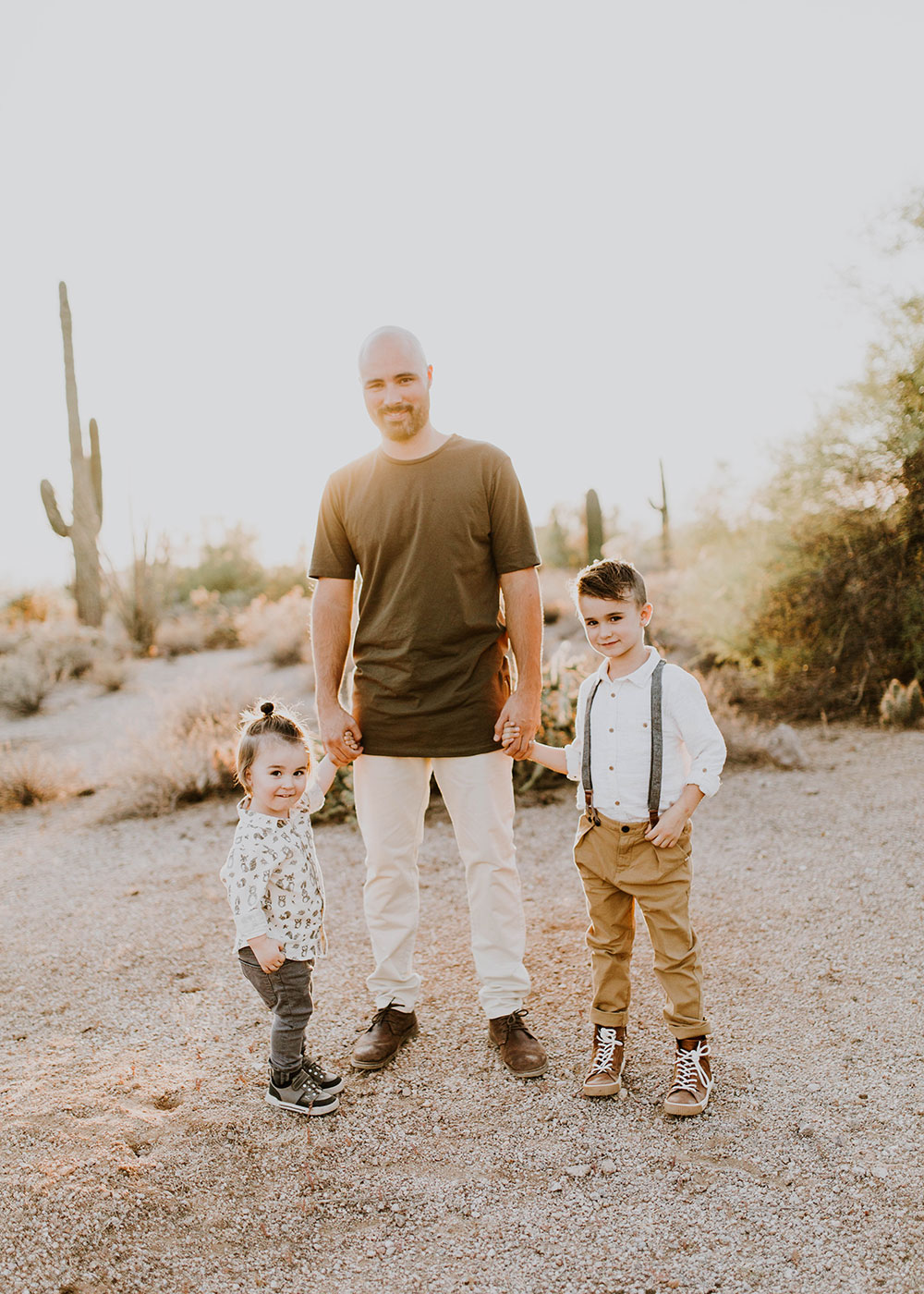 a father and his sons #familyphotos | thelovedesignedllife.com