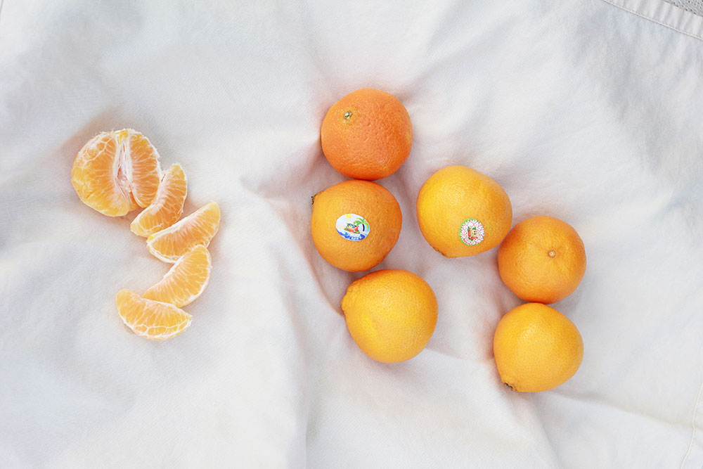 fresh little california cuties citrus are back in season! | thelovedesignedlife.com #100daysofsunshine #cuties #kidsfood