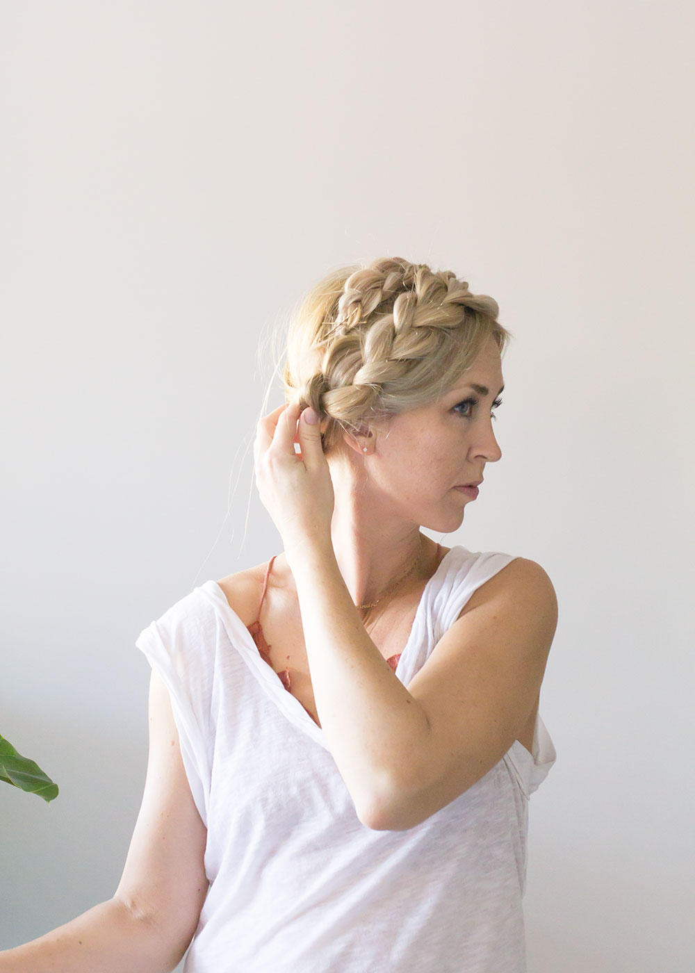 easy milkmiad hair braid | thelovedesignedlife.com