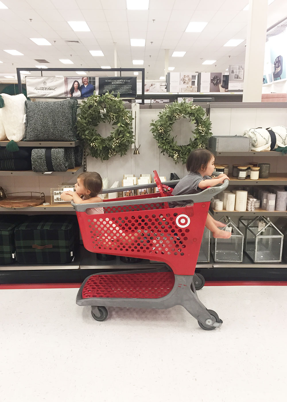 back at target again while brother is at mathnasium | thelovedesignedlife.com