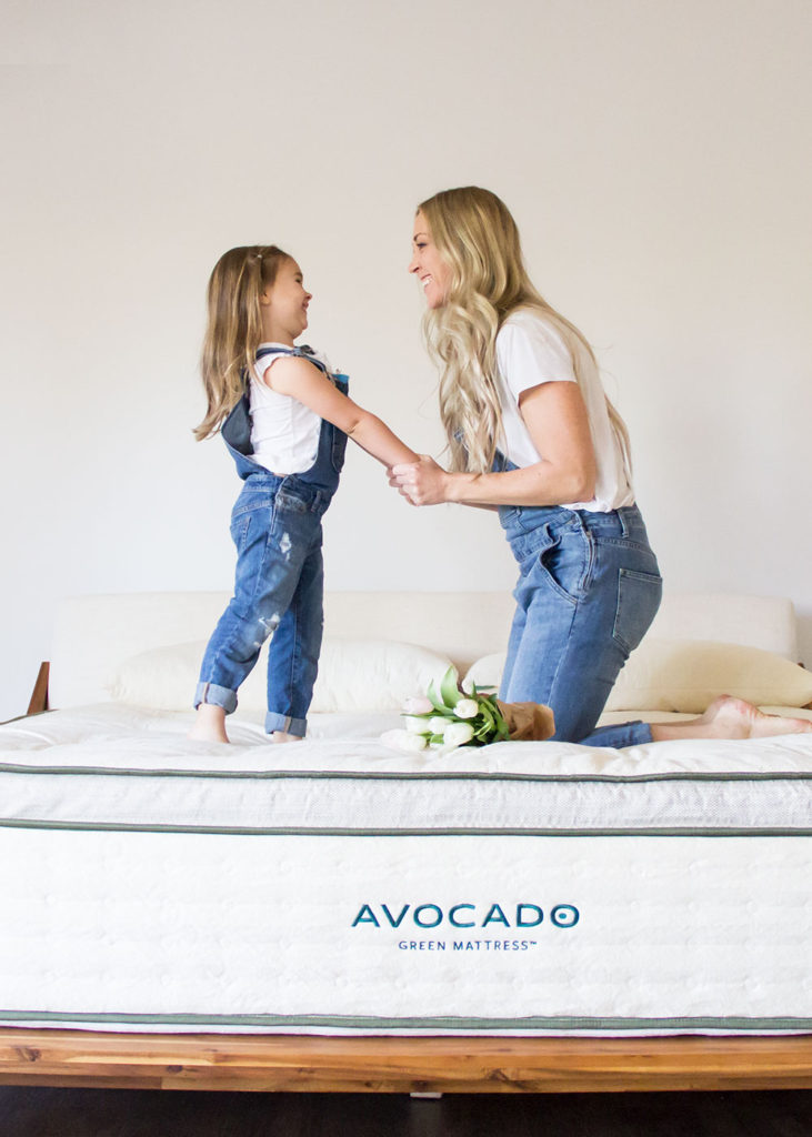 our review of our new green mattress | thelovedesignedlife.com