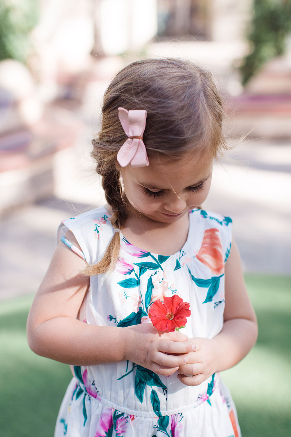 sweet little girl dresses for easter | thelovedesignedlife.com #easterdress #springtime