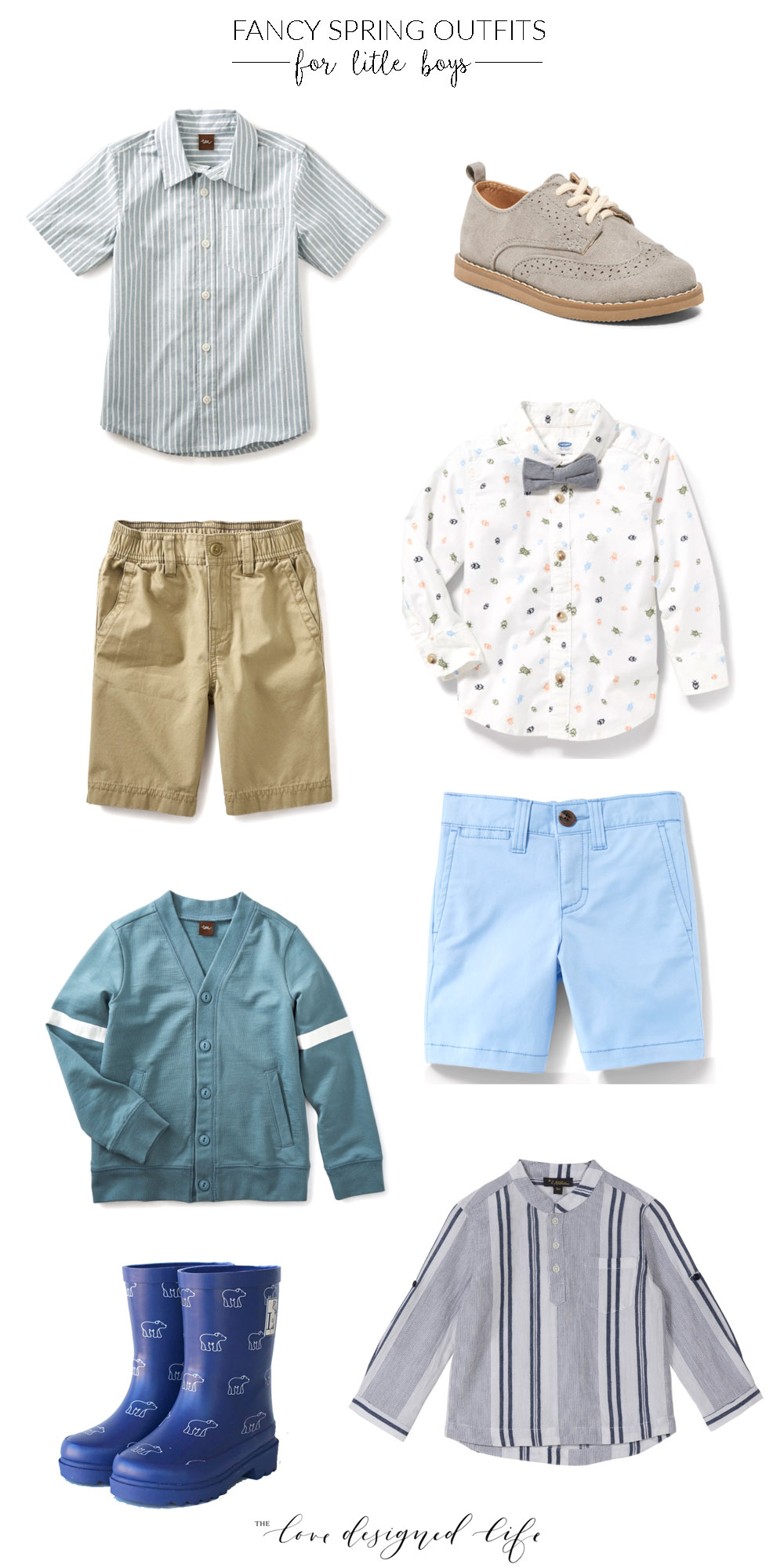 the cutest little outfits for dapper little boys! | thelovedesignedlife.com #easteroutfits #boysoutfits