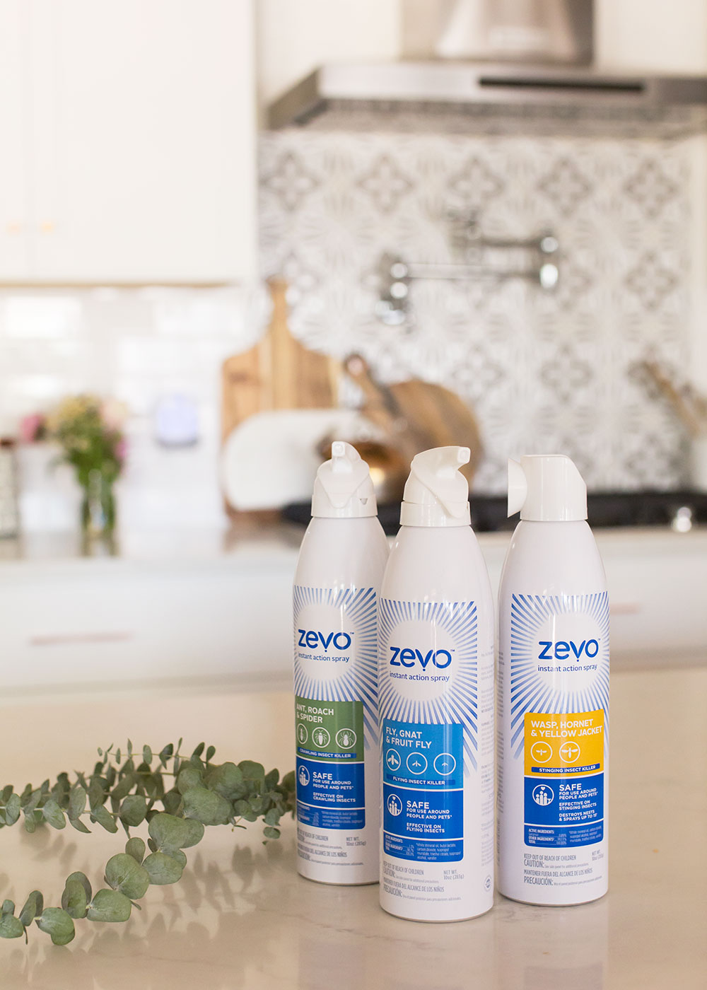 introducing the Zevo Total Home Protection line of Insect sprays and traps! | thelovedesignedlife.com #safehome #naturalproducts #nobugs #zevoinsect #ad