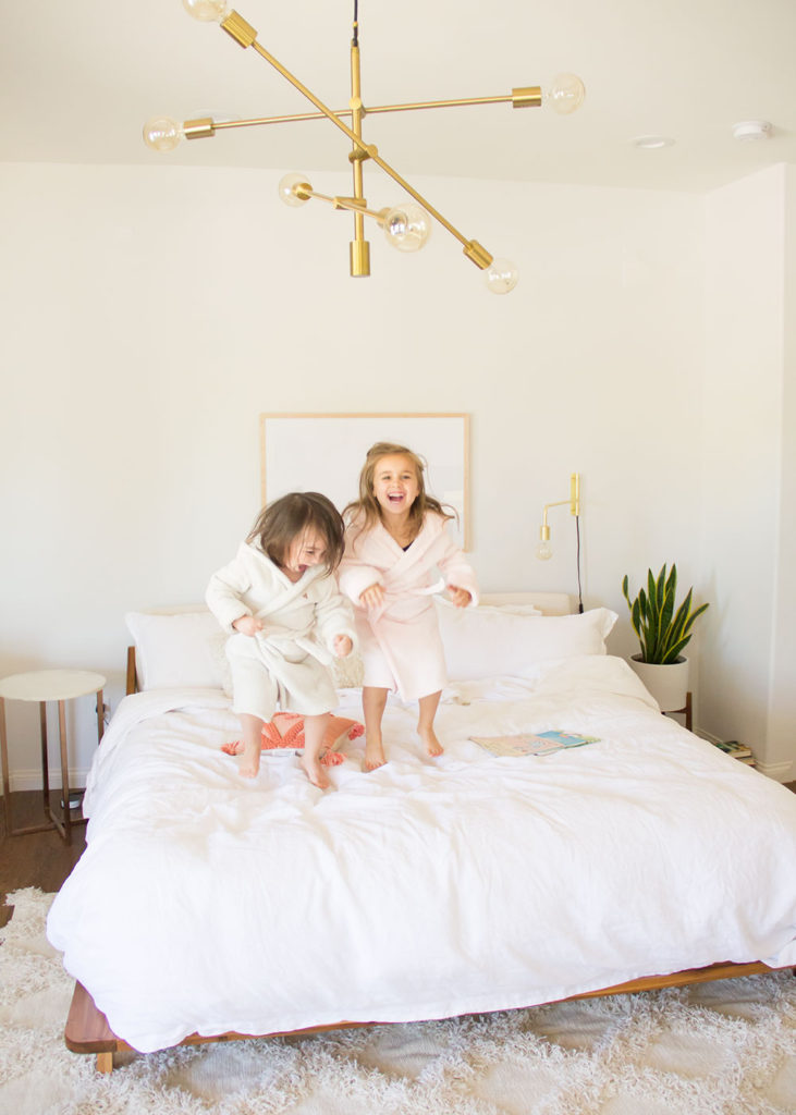 the crazy before the calm at our house during bedtime | thelovedesignedlife.com